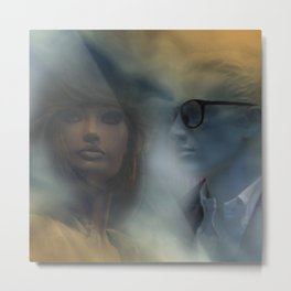 showcased -10- Metal Print