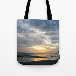 Walk into the sunset.. Tote Bag