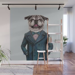 dog portrait Wall Mural