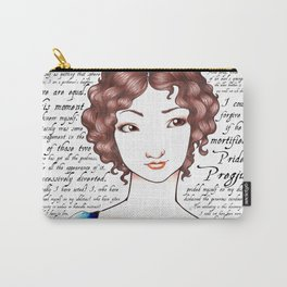 Elizabeth Bennet - Pride and Predjudice Carry-All Pouch