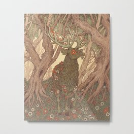 Forest Elemental Metal Print