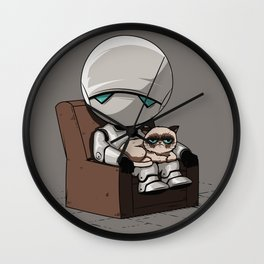 Marvin Grumpy Wall Clock