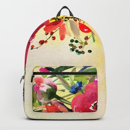 Flowers bouquet #44 Backpack