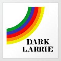 larry stylinson Art Prints featuring Dark Larrie (Larry Stylinson) by Arabella