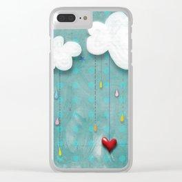 Me gusta como eres Clear iPhone Case