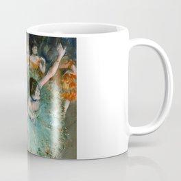 "Edgar Degas ""Danseuse basculant (Danseuse verte - The green dancer)"" Coffee Mug"