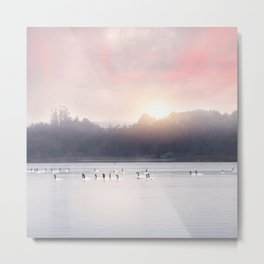 Sunset v6 Metal Print