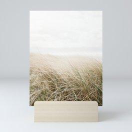 Dune grass   Ireland travel photogragraphy print   At the beach Mini Art Print
