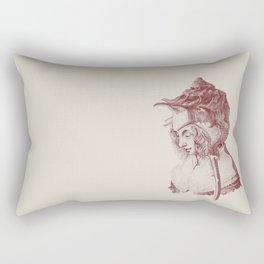 Haute Coiffure  /#7 Rectangular Pillow