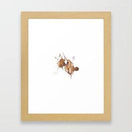 the coffeemonsters 222 Framed Art Print