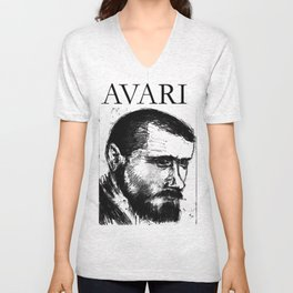 Portait2 Unisex V-Neck