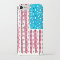 american flag iPhone & iPod Cases featuring American Flag by Caleb Boyles