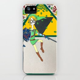 Gaming Mucha - Link iPhone Case