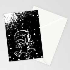 DINOSAUR IN SPACE! Stationery Cards