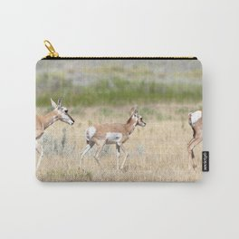 Watercolor Pronghorn Antelope 06, Wyoming Carry-All Pouch