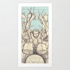 GABE. Art Print