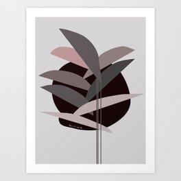 Cocoa&Rose Art Print