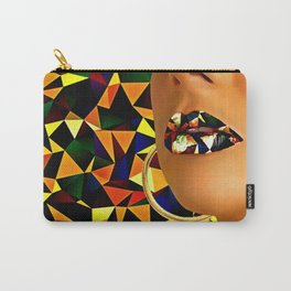 Lips in polyart Carry-All Pouch