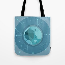 Planet F - Trappist System Tote Bag