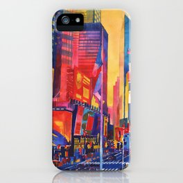 Times Square New York iPhone Case