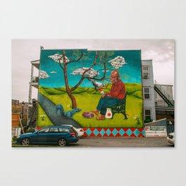 Woodland Restaurant Mural.  Canvas Print
