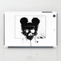 horror iPad Cases featuring Horror Mickey by Renars