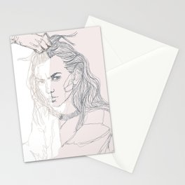 Paint me out to be Stationery Cards