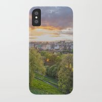 edinburgh iPhone & iPod Cases featuring EDINBURGH by Marte Stromme