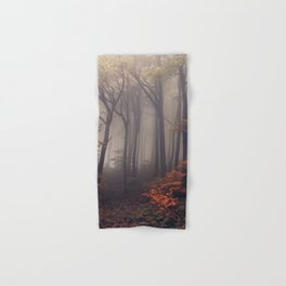 Red leaves of autumn Hand & Bath Towel
