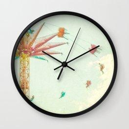 Summer Fun Wall Clock