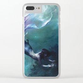 Sæglópur Clear iPhone Case