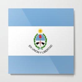 flag of San Juan Metal Print
