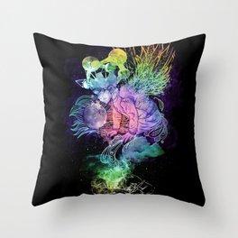 Growing A Mind Throw Pillow