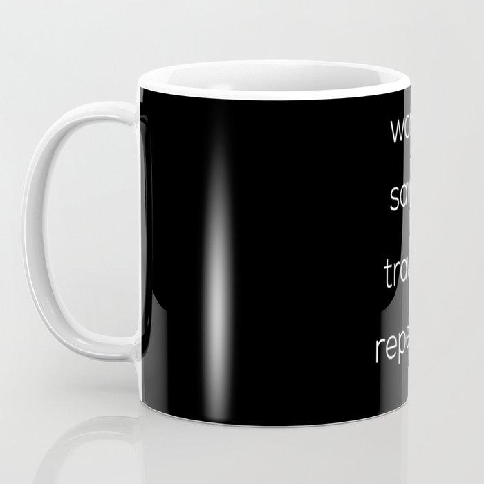 Work, Save, Travel, Repeat Coffee Mug