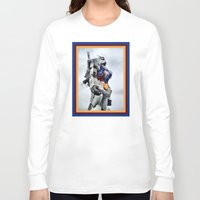 gundam Long Sleeve T-shirts featuring Gundam Pride by Julie Maxwell