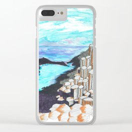 The Giants Causeway Clear iPhone Case