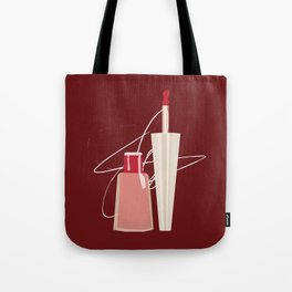 When Red Meets RED Tote Bag