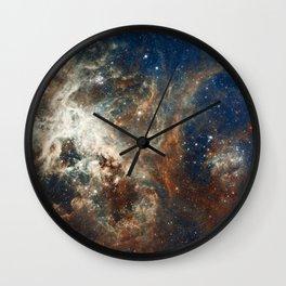 Cosmos VII Wall Clock