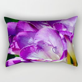 Royal Purple - The Prince Of Freesias Rectangular Pillow