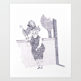 Tremebunda Art Print