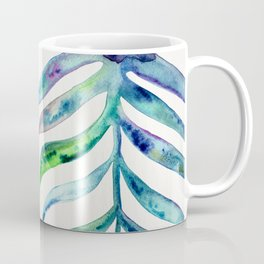 Blooming Orchid – Fuchsia & Indigo Palette Coffee Mug