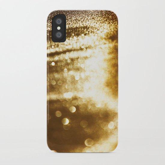 spun gold iPhone Case