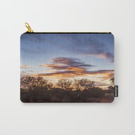 Australian Outback Sunset in Uluru Carry-All Pouch