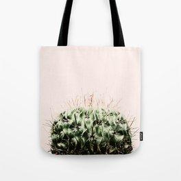 Cactus on pink Tote Bag