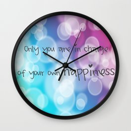 Charisma Bokeh Wall Clock