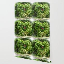 Heart Bush Wallpaper