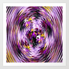 The Pansies within... Art Print