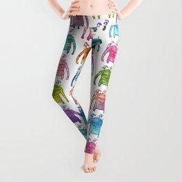 Painted & Patterned Goobues Leggings