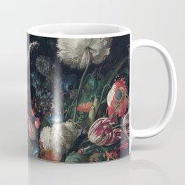Dutch dark Dramatic Floral arrangement Coffee Mug