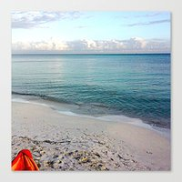 honda Canvas Prints featuring Bahia Honda by Ellen Turner